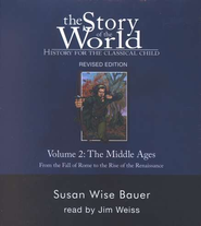 Story of the World, Vol. 2: The Middle Ages, Audio CD Set   -     By: Susan Wise Bauer