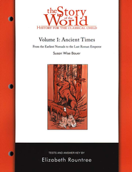 Story of the World, Vol. 1: Ancient Times Test Book, Revised   -