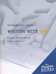 Writing with Ease Level One Workbook   -     By: Susan Wise Bauer