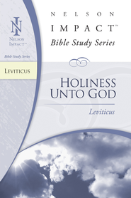 Nelson Impact Study Guide: Leviticus - eBook  -