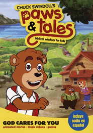 God Cares for You: Bible Wisdom for Kids #1 (Chuck Swindoll's Paws & Tales)  -     By: Providential Pictures