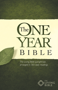 The One Year Bible TLB - eBook  -