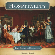Hospitality: The Biblical Commands Audio CD   -     By: Alexander Strauch