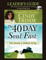 The 40 Day Soul Fast Leader's Guide - eBook  -     By: Cindy Trimm