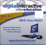 Saxon Math 87, 2nd Edition DIVE CD-Rom  -