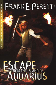 The Cooper Kids Adventure Series #2: Escape from the Island of  Aquarius  -     By: Frank Peretti