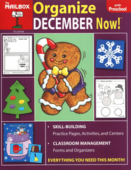 Organize December Now! PreK  -