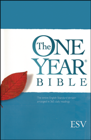 ESV One Year Bible, Hardcover   -