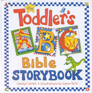 The Toddler's ABC Bible Storybook  -     By: Carolyn Larsen