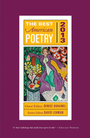 The Best American Poetry 2013 - eBook  -     By: David Lehman