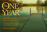 The One Year Walk with God Devotional: 365 Daily Bible Readings to Transform Your Mind (myBooks)  -     By: Walk Thru The Bible, Chris Tiegreen