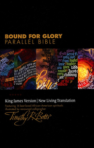 NLT/KJV Bound for Glory Parallel Bible, Hardcover    -