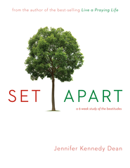 Set Apart: A 6-Week Study of the Beatitudes - eBook  -     By: Jennifer Dean Kennedy