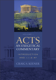 Acts: An Exegetical Commentary : Volume 1: Introduction and 1:1-247 - eBook  -     By: Craig S. Keener