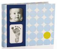Baby Prints Memory Book, Blue  -