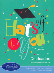Graduation Celebration Cards, Box of 12  -