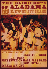 Blind Boys: Live In New Orleans, DVD   -     By: The Blind Boys of Alabama