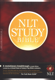 NLT Study Bible, Hardcover - Slightly Imperfect  -