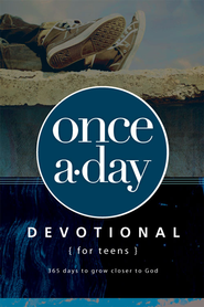 Once-A-Day Devotional for Teens - eBook  -