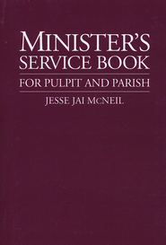 The Minister's Service Book   -     By: Jesse Jai McNeil