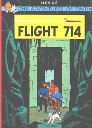 The Adventures of Tintin: Flight 714   -              By: Herge