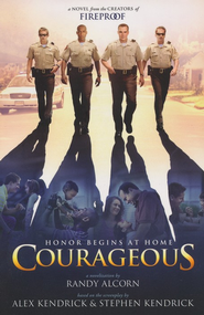 Courageous, paperback  - Slightly Imperfect  -     By: Randy Alcorn, Alex Kendrick, Stephen Kendrick