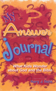 My Answer Journal   -     By: Mary J. Davis