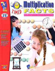 Timed Multiplication Facts, Grades 4-6   -
