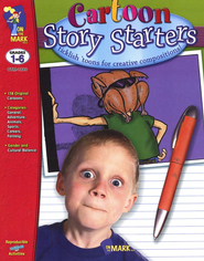 Cartoon Story Starters Grades 1-6   -