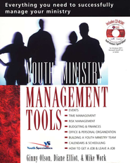 Youth Ministry Management Tools--Book and CD-ROM   -              By: Ginny Olson, Diane Elliot, Mike Work