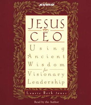 Jesus CEO                                        - Audiobook on CD  -     By: Laurie Beth Jones