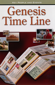 Genesis Time Line Pamphlet - 5 Pack  -