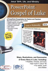 Gospel of Luke: PowerPoint CD-ROM  -