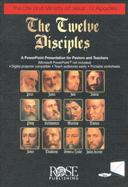 The Twelve Disciples - PowerPoint   [Download] -
