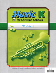 BJU Music K5 Student Worktext   -