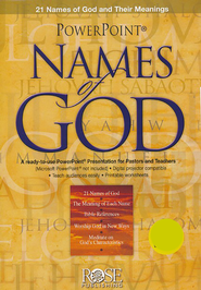 Powerpoint Names of God: 21 Names of God and Their Meanings  -