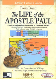 The Life of the Apostle Paul: PowerPoint CD-ROM  -