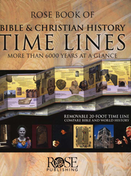 Rose Book of Bible & Christian History Time Lines  - Slightly Imperfect  -