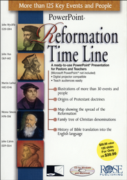 Reformation Time Line: PowerPoint CD-ROM  -