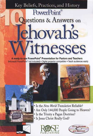 10 Questions & Answers on Jehovah's Witnesses: PowerPoint CD-ROM  -