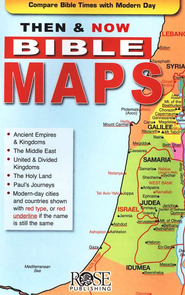Then & Now Bible Maps, Pamphlet   -