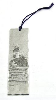 Lighthouse Bookmark  -