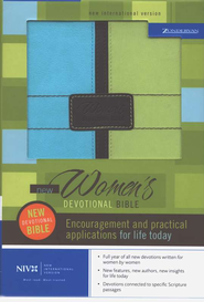 NIV New Womens Devotional Bible  1984  -