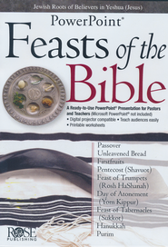 Feasts & Holidays of the Bible: PowerPoint CD-ROM  -