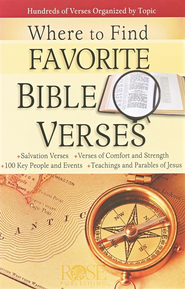 Where to Find Favorite Bible Verses (10 Pack)  -