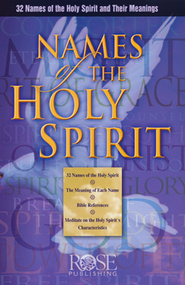 Names of the Holy Spirit pamphlet  -     By: William Ashby
