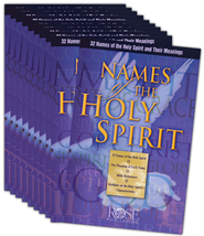 Names of the Holy Spirit (10 Pack)  -              By: William Ashby