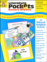 Literature Pockets Nursery Rymes, Grades K-1   -
