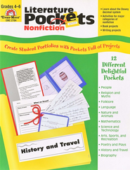 Literature Pockets Nonfiction, Grades 4-6   -
