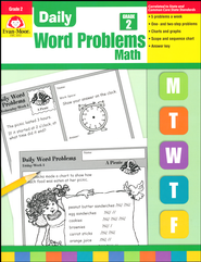Daily Word Problems, Grade 2   -     By: Homeschool